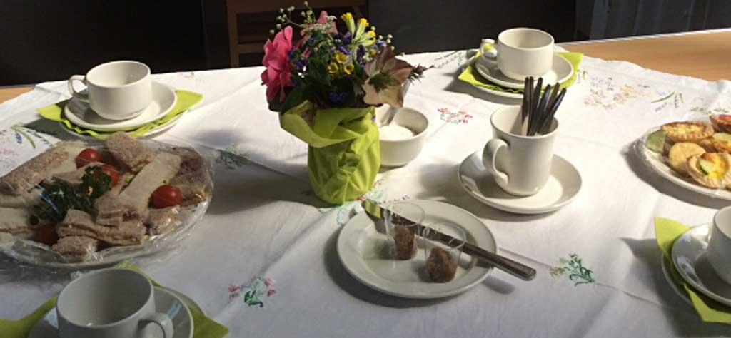 Cream tea celebrating 5th anniversary of St Michael's refurbishment