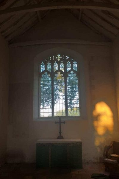 Lt Witchingham altar