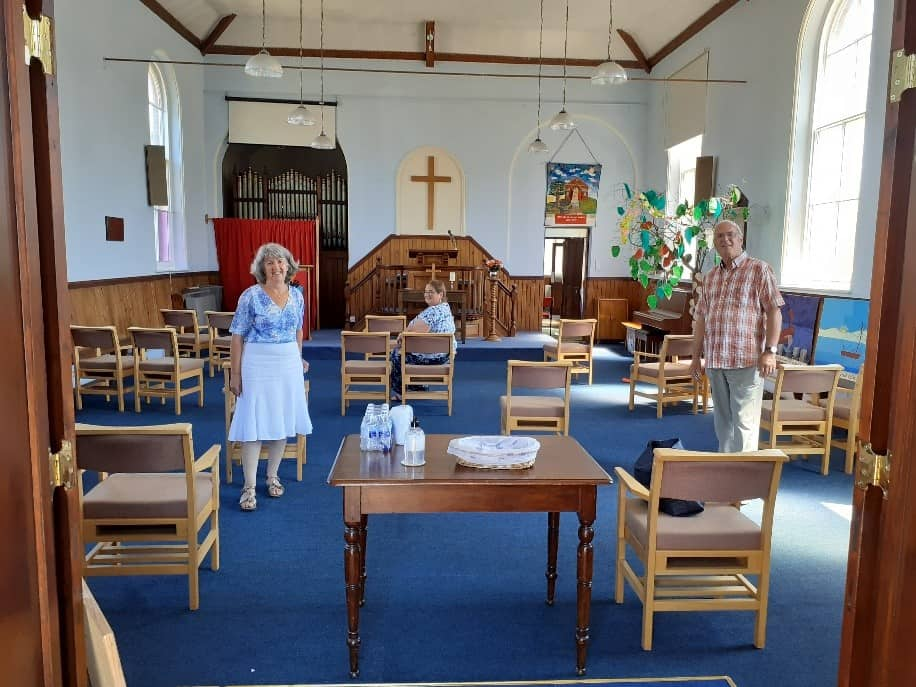 Reepham Methodist Church Opening For Prayer And Sunday Services