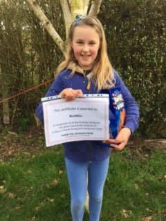 Schoolgirl's Run Raises £200 For Repairs